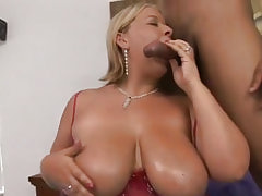 Stud takes care of big sugar babe